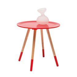 블로썸 레드 사이드 테이블