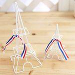 화이트 심플 에펠탑 미니데코 2P SET