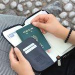 트레블링 여권 파우치