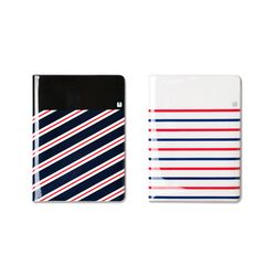 LUCALAB No Skimming Passport Wallet - 스트라이프