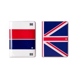 LUCALAB No Skimming Passport Wallet - 국기 시리즈