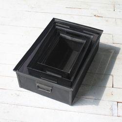 철제 정리수납 공간 박스 3세트