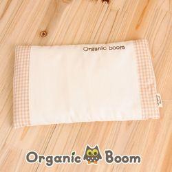 착한 오가닉 체크 좁쌀 베개(타이벡 속지 좁쌀 포함)