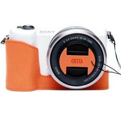 Sony a5100 a5000 겸용 속사케이스&캡스킨-오렌지