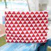 [Mini Pouch] Triangle Red