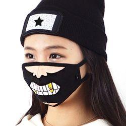 그래픽마스크 Graphic Mask - B.A