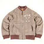 RASCAL TEAM WOOL JACKET (DARK PURPLE)