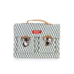 [bakker] Canvas & leather Satchel_mini_books