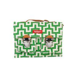 [bakker] Canvas & leather Satchel_mini_labyrinth
