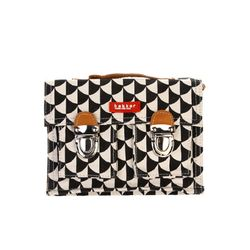 [bakker] Canvas & leather Satchel_mini_matahari