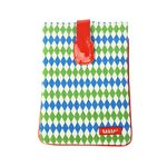 [bakker] Canvas & Vinyle iPad mini pouch_diabolos