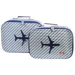 [bakker] Canvas Suitcases set of 2_bowie_a