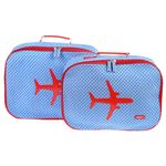[bakker] Canvas Suitcases set of 2_kaleidoscope_a