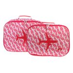 [bakker] Canvas Suitcases set of 2_kelly rose_a