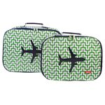 [bakker] Canvas Suitcases set of 2_labyrinth_a