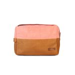 [bakker] Large Cosmetic Bag_circles orange