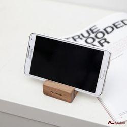 작은 원목스마트폰거치대 (하드우드 원목문구류)