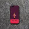 MIKA GIRL MAGENTA 아이폰5 Black Case