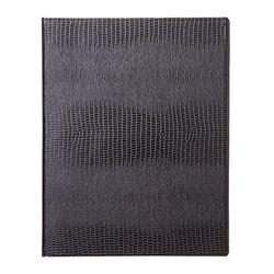 바인더북 A4 Crocodile Pattern [블랙]
