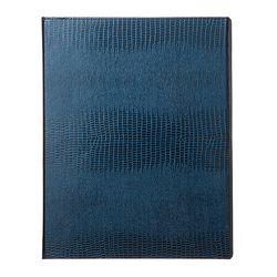 바인더북 A4 Crocodile Pattern [블루마린]