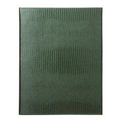 바인더북 A4 Crocodile Pattern [카키]