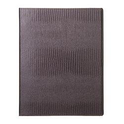 바인더북 A4 Crocodile Pattern [펄브라운]