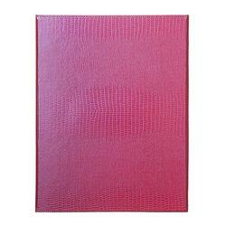 바인더북 A4 Crocodile Pattern [핑크]