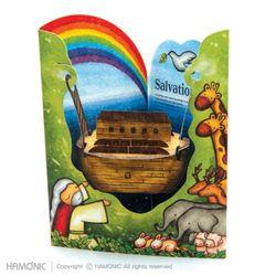 성경마을-노아와 무지개