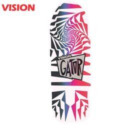 [VISION] GATOR 2 WHITEPINK CRUISER DECK 29.75