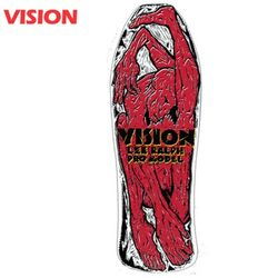 [VISION] LEE RALPH PRO WHITE CRUISER DECK 33.75