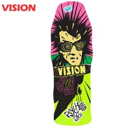 [VISION] ORIGINAL PSYCHO STICK LIME CRUISER DECK