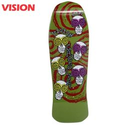 TOM GROHOLSKI SKELETON MINI GREEN CRUISER DECK 30