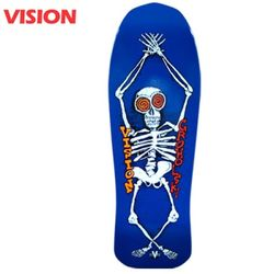 TOM GROHOLSKI SKELETON BLUE CRUISER DECK 30