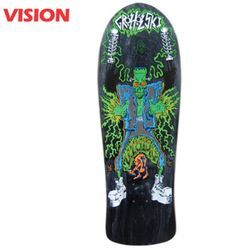 TOM GROHOLSKI FRANKENSTEIN BLACK CRUISER DECK31.75
