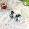 ������������ �Ͱ���(silver)london blue topaz E