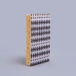 스펀지 수세미 (다이아몬드 블랙)
