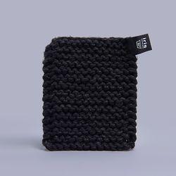 니트 냄비 받침 (블랙)