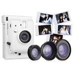 [인스탁스필름증정] 로모인스턴트 카메라 -   White + 3 Lenses