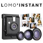 로모인스턴트 카메라 -  Black + 3 Lenses