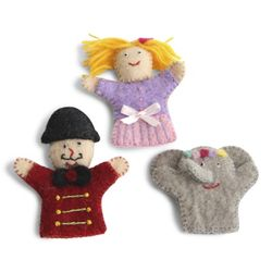 Finger Puppets Circus - 1 sets of 3 pcs