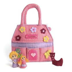 Kids bag with Finger Puppets