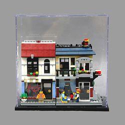 레고 바이크샵 전용 아크릴케이스 피규어케이스
