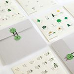 [~4/1일까지] Snowcat STICKER SET - GO GREEN