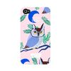Big Owl Pink for iPhone 4 4s [�÷���ƿ]