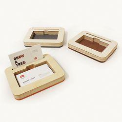팝업과 수납을 동시에 하는 명함트레이A-Card Tray A