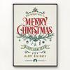 메탈 인테리어 포스터 장식 액자 메리 크리스마스3