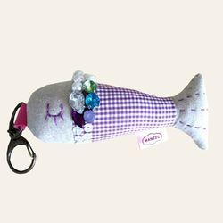 물고기키홀더DIY(체크)