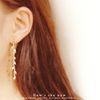 봄날의 눈 natural pearl earring (천연 담수진주)