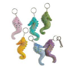 Keyring Seahorse