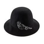 Yours a bird Wool Hat Black